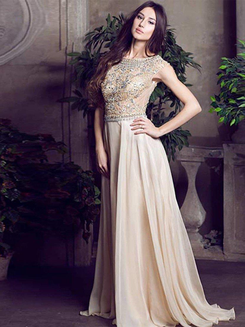 вечерние платья на свадьбу длинные фото